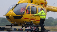 Prince William working as air ambulance pilot