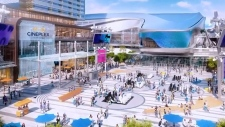 Edmonton Ice District - Plaza