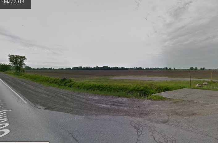 Sources say the new mega hospital will be located near County Road 42 and Concession 9 in Windsor, Ont. (Google Maps)