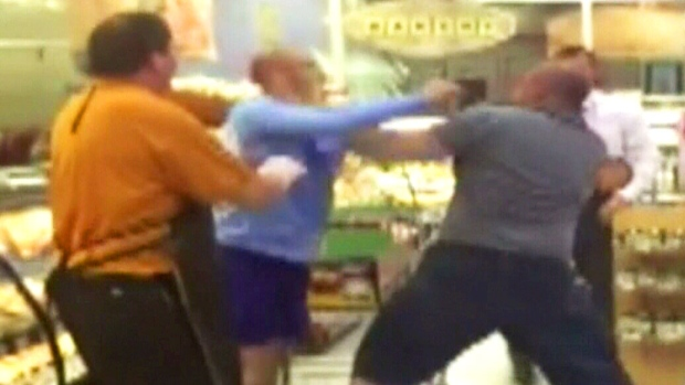 Phoenix Gas Prices >> Two men get into fist fight in a grocery store | CTV News ...