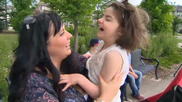 Sarah Wilkinson says her daughter Mia has not suffered a seizure in the last 18 months following the introduction of medical marijuana treatments