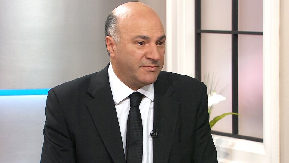 Kevin O'Leary speaks with CTV's Canada AM in Toronto on Thursday, July 16, 2015.