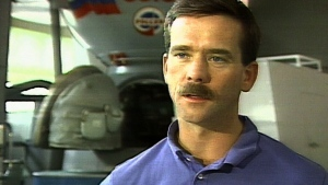 'Ill be building the mechanism into the shuttle so that it's… in place for our docking,' Hadfield told CTV News on July 17, 1995.
