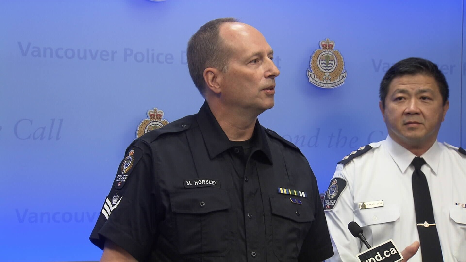 Staff Sgt. Mark Horsely spent five days undercover disguised as a paralyzed man in a wheelchair on the Downtown Eastside (Vancouver Police Department).