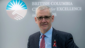 Dr. Julio Montaner, Director of the British Columbia Centre for Excellence in HIV/AIDS, is shown in a handout photo. THE CANADIAN PRESS/HO-BC Centre for Excellence in HIV/AIDS