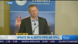 CTV News Channel: No prior incidents with pipeline