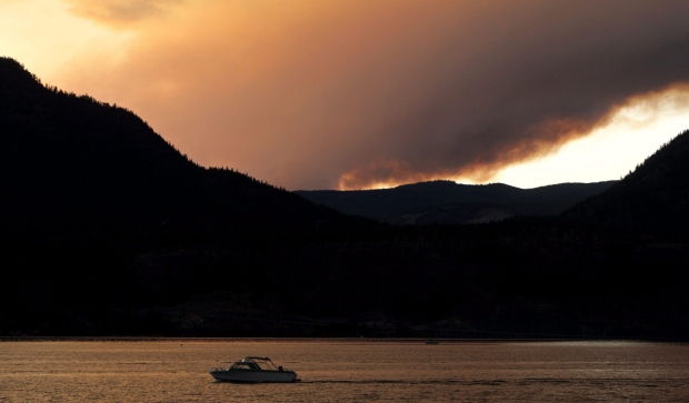 Lake Okanagan is seen in this undated file photo. (Darryl Dyck / The Canadian Press)