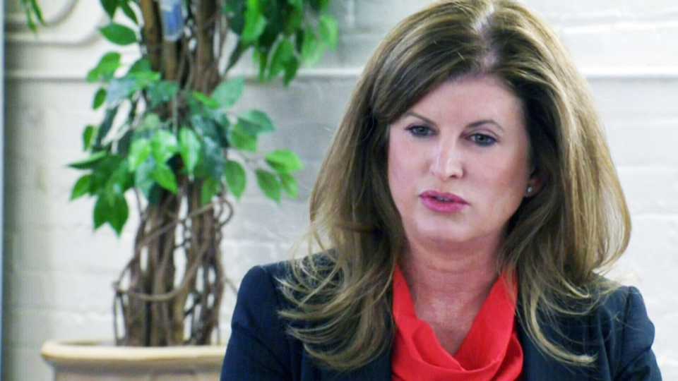 Health Minister Rona Ambrose speaks to the media in Edmonton Monday, July 20, 2015.