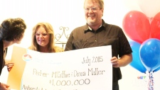 Lottery winner Peter McCathie