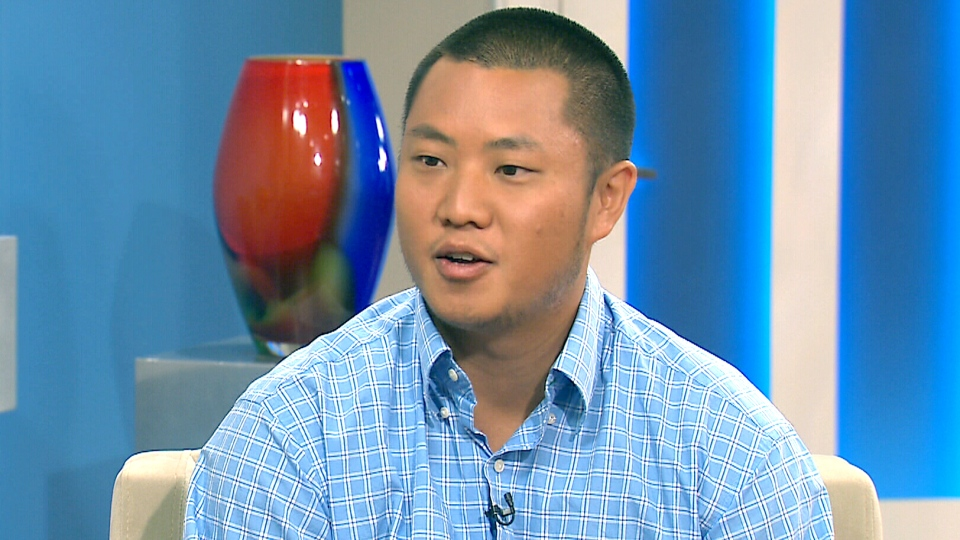 Christopher Lau appears on CTV's Canada AM on Tuesday, July 21, 2015.