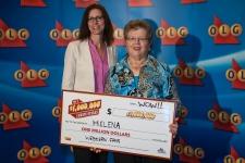 Helena Vermeeren million-dollar winner