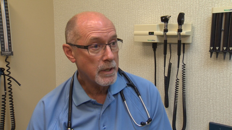 Dr. William Cavers says Victoria's family doctor shortage is so bad, some walk-in clinics are being forced to close during scheduled hours because there's no coverage. July 21, 2015. (CTV Vancouver Island)