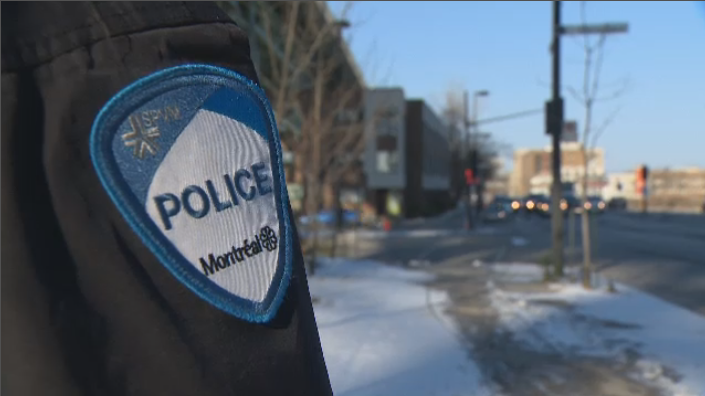 Montreal police badge generic