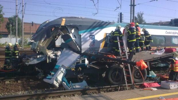 Τσεχική Δημοκρατία σύγκρουση τρένου