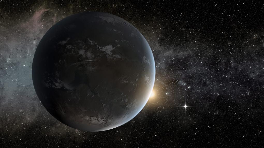 Exoplanet discovered by Kepler