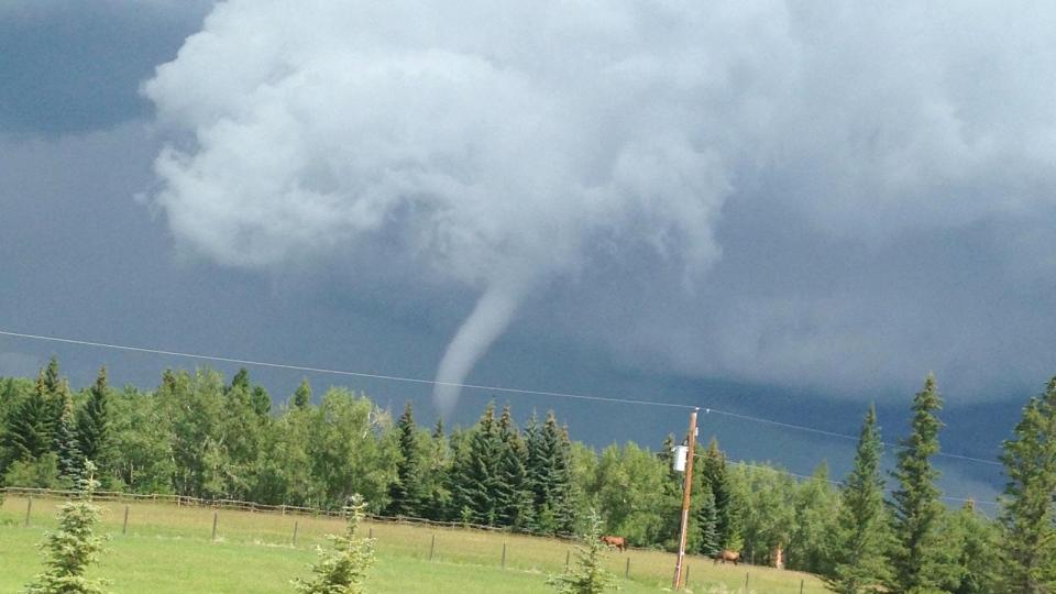 Tornado touchdown confirmed southwest of Calgary | CTV News
