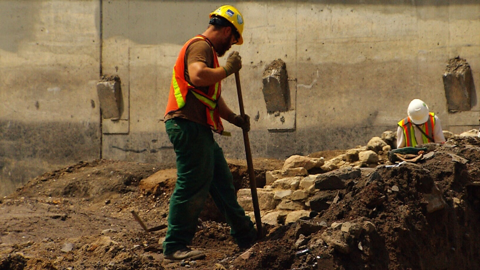 Archaeologists have discovered the remains of an 18th-century village buried beneath Montreal's Turcot Interchange.