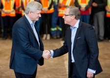 Stephen Harper and Brad Wall