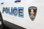The logo from a Windsor police cruiser in Windsor, Ont., on Thursday, July 16, 2015. (Melanie Borrelli / CTV Windsor)