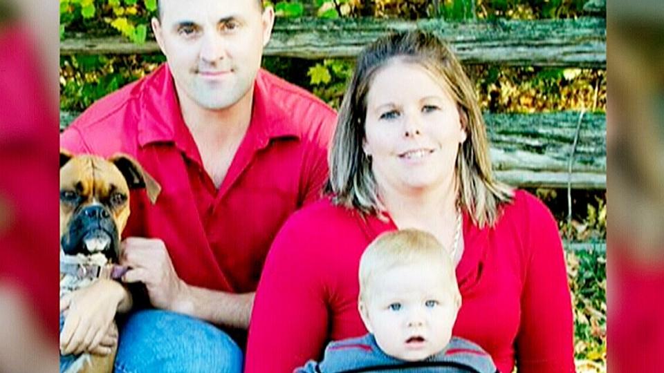 Dawson Lacroix and family