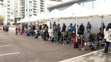 Vancouver condo lineup