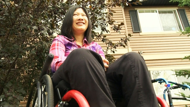 Vicky Venancio was injured months after arriving in Canada has been given permission to stay, and work, in Canada.
