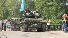 Scorpion at Awesome Tanks