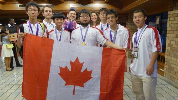 Canadian teen Alex Song wins math Olympiad for high school