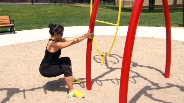 Canada AM: Playground workouts
