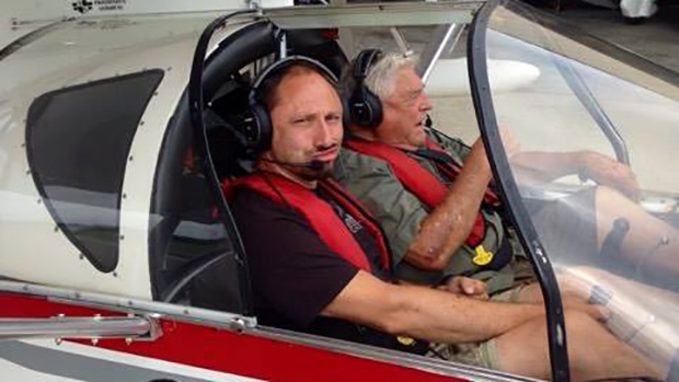 Pilot Sergey Ananov is seen in this undated photo. (Helicopter Solo Around the World / Facebook)
