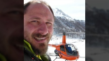 Russian pilot Sergey Ananov