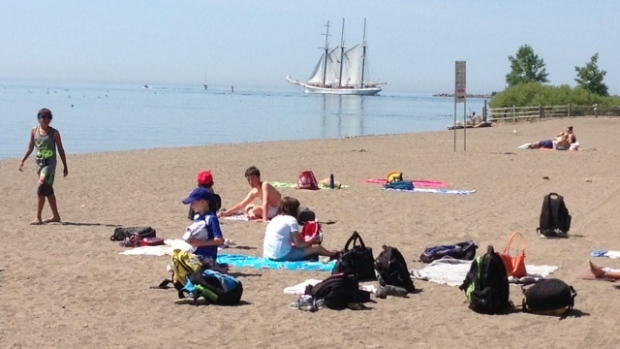 Environment Canada issues heat warning for P.E.I