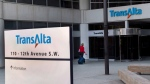 Power generator TransAlta Corp. says it has set a goal to be carbon neutral by 2050 after cutting greenhouse gas emissions to 60 per cent below 2015 levels by 2030. (file)