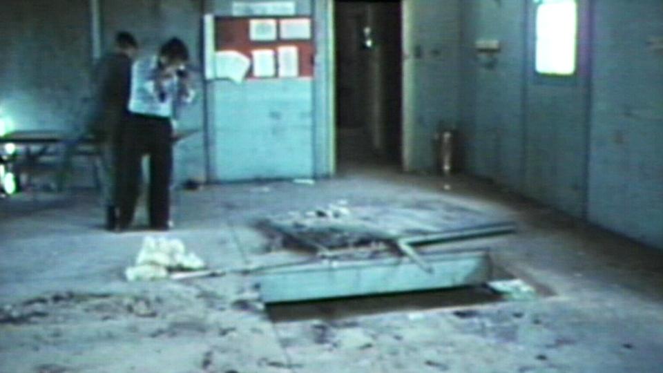 Valcartier grenade accident 1974