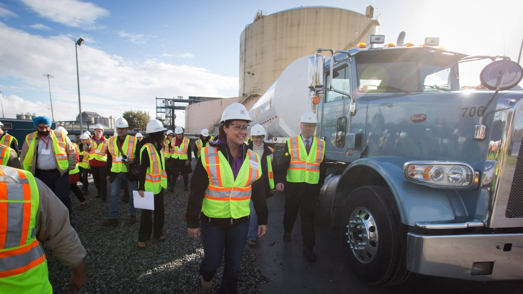 FortisBC's LNG facility in Delta