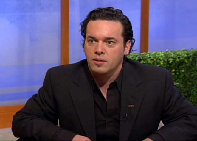 Joseph Boyden, 2008 Scotiabank Giller Prize winner, speaks with CTV's Canada AM, Wednesday, Nov. 12, 2008.