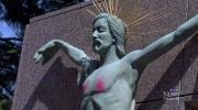 CTV Vancouver: Jesus statue vandalized again