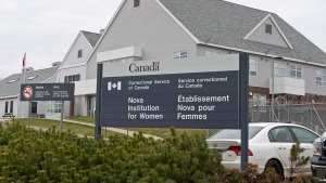 The Nova Institution for Women is seen in Truro, N.S. in this file photo from May 6, 2014. (Andrew Vaughan/THE CANADIAN PRESS)