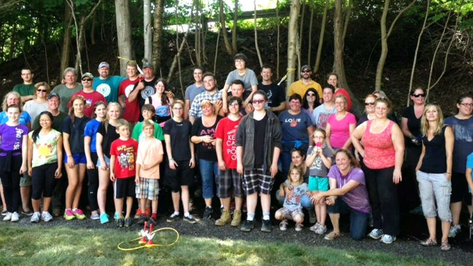 A community in Dartmouth, N.S. organized a surprise backyard renovation on Wednesday for a seven-year-old boy with leukemia who is mostly constrained to his home because of his illness.