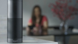 The Amazon Echo is one of the latest advances in voice-recognition technology that's enabling machines to record snippets of conversation that are analyzed and stored by companies promising to make their customers' lives better. However, the devices are also fueling concerns about users' privacy. (Amazon)