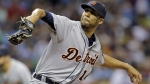 Detroit Tigers' David Price goes into his wind up against the Tampa Bay Rays during the second inning of a baseball game Tuesday, July 28, 2015, in St. Petersburg, Fla. (AP / Chris O'Meara)