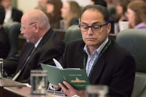 Alberta Finance Minister Joe Ceci is seen in this file photo from Tuesday, May 12, 2015. (Amber Bracken/THE CANADIAN PRESS)