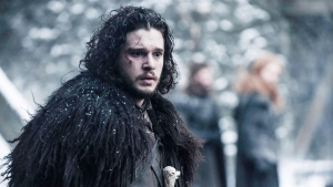 This file photo provided by courtesy of HBO shows Kit Harington as Jon Snow in a scene from 'Game of Thrones,' season 5. (Helen Sloan/HBO via AP, File)
