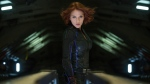 Scarlett Johansson is shown as Black Widow in Marvel's 'Avengers: Age of Ultron.' (Jay Maidment/Disney/Marvel via AP)