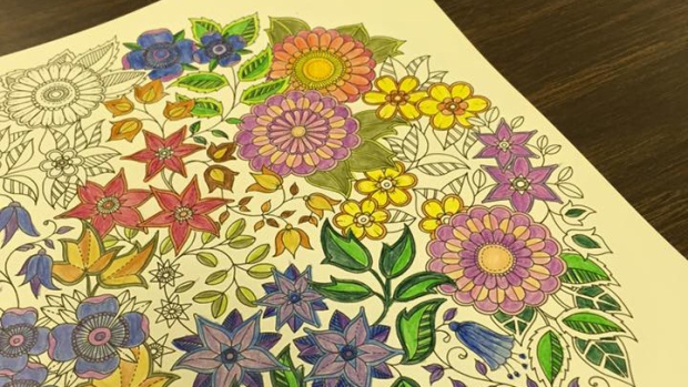 I Find It Relaxing Edmonton Book Store Hosts Colouring