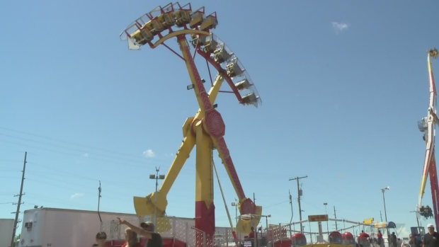 Regina Morning Live Tackling The Rides At The Queen City