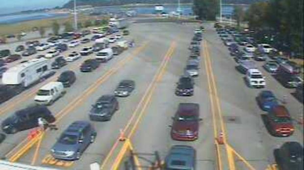 Bc Ferries Terminals Slammed By Long Weekend Traffic Ctv