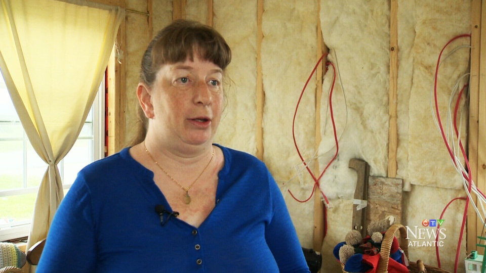 Cheryl Smith explains why she would like to live off the grid.