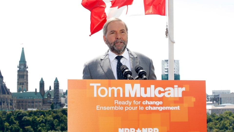 NDP Leader Tom Mulcair
