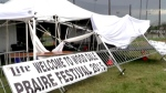 Wicked storm to blame for deadly tent collapse